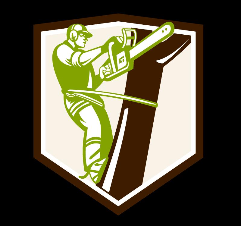 Kácení stromu - logo